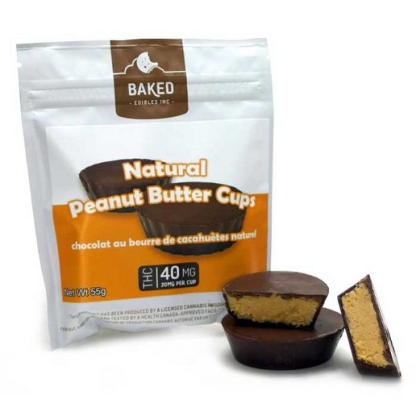 Cannabis Infused Choco Peanut Cup
